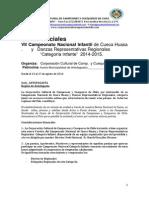 Bases Oficial Infante PDF