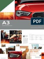 Audi A3 Sportback e-tron Catalogue (GER)