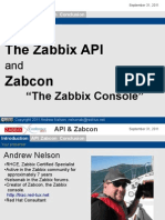 Andrew Nelson - Zabbix Console
