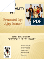 Job Personality Fit