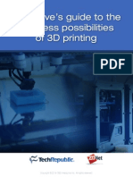 Business Posibilities of 3D Printing