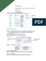 Dreamweaver dan PHP