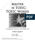 Master the TOEIC Words (1)