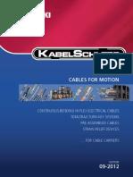 Cables Control Fuerza Comunicacion Señal Flexibles Kabelschlepp