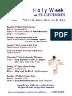Holy Week 2009