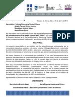 Violencia de Genero Nivel Medio Superior Oaxaca
