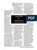 1995 Issue 10 - Last Will and Testament of William Huntington Part 3 - Counsel of Chalcedon