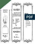 Contoh Undangan Tasyakuran Haji (Fix)