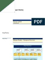 Morgan Stanley Europe Update