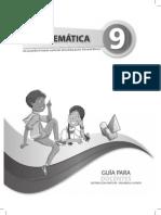 Guia de Docente 9no EGB Matematica
