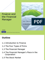 lecture 01  coporate finance and the financial manager