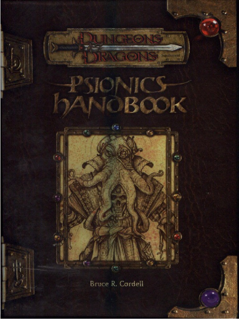 D&D 3 5 - Psionics Handbook | Role Playing Games | Gary Gygax Games