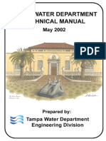Tampa Water Department Technical Manual