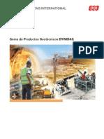 DSI DYWIDAG Gama de Productos Geotecnicos DYWIDAG LA 03