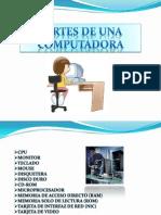 PRESENTACION+PARTES+DE+UNA+COMPUTADORA