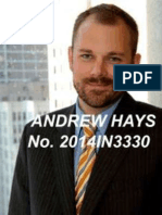 Andrew Hays, Sarah Buck, Hays Law Firm attorney disciplinary Complaint
