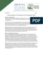 Cyanobacteria fact sheet