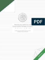 Programa Especial de Educación Intercultural 2014- 2018 (2)