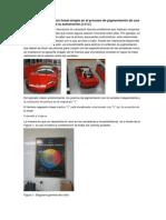 Aplicación de Regresión Lineal Simple en El Proceso de Pigmentación de Una Empresa Del Sector de La Automoción