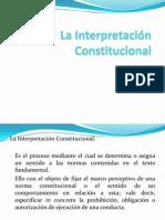 La Interpretación Constitucional.ppt