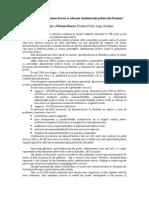 Descentralizarea–Element de Baza Al Reformei Administratiei Publice Din Romania Tudor Pendiuc Si Mariana Boncea