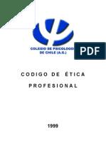 Codigo Etica Profesional Psicologos
