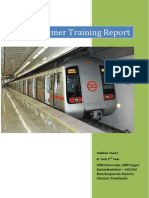 Summer Training Dmrc Report