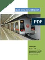 Summer Training Dmrc Report