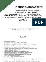 Notas de Aula Programacao Web