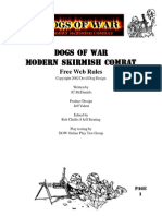 Dogs of War Modern-Skirmish