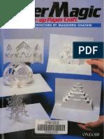 Masahiro Chatani - Paper Magic Pop-Up Paper Craft. Origamic Architecture - 1988