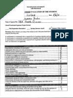ahs8100 student evaluation