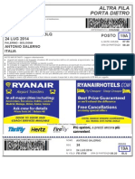 Ryanair Boarding Pass