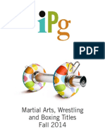 IPG Fall 2014 Martial Arts, Wrestling, and Boxing Titles