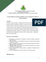 DFPE - Organização e Política Da Educação Brasileira