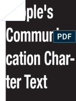 People's Communication Charter Text