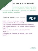 Las Funciones Vitales. Fluidez y Comprensión Lectoras 4º E.P. Anaya