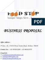 Business Proposal_food Stop