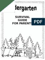 kindergarten survival guide