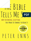 The Bible Tells Me So by Peter Enns (excerpt)
