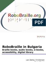 Robo Braille