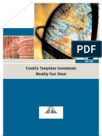 Franklin Templeton Investments Monthly Fact Sheet
