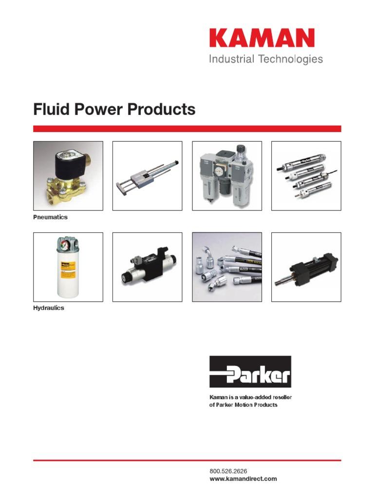 Kaman Fluid Power Catalog Valve Polyethylene