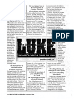 1996 Issue 8 - Sermon on Luke 6:12-16 - The Sovereignty of Jesus - Counsel of Chalcedon