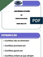CONFLITOS RESOLUCAO