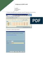 Configuracao de Envio de E-mail No SAP