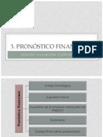 3 Pronostico Financiero