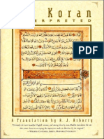 Koran - A. J. Arberry