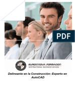 Delineante Construccion Experto Autocad