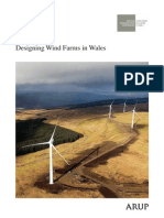 Designing Wind Farms in Wales